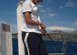 Gino et sa canne à pêche