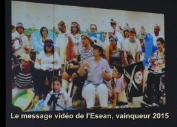 Le Message vidéo de l'ESEAN, vainqueur 2015
