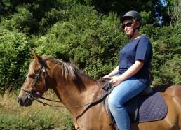 Romane et son cheval