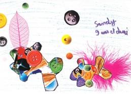 Concours dessin : Mon plus beau poisson - Sandy, 9 ans et demi - CHD Vendée La Roche sur Yon