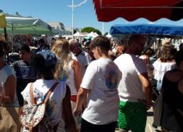 Le marché de Port Camargue sur le retour du CESTMed