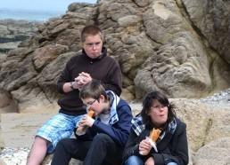 Pique-nique à la plage