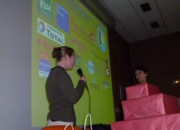 Sandra de l'Institut Curie raconte le déroulement du jeu à l'hôpital