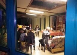 Première réunion Poste avant entre Matelots
