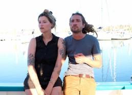 Greg et Sarah, les beaux marins