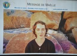 Maelle, Matelote d'août a envoyé un message vidéo