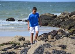 Les activités se poursuivent à la plage