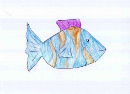 Concours dessin : Mon plus beau poisson - Institut Curie