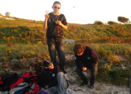 Gaël, Aymeric et Steven