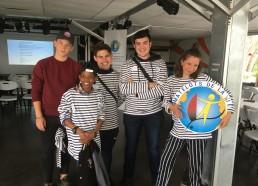 Les 5 matelots venus seuls de Paris pour rassurer leurs familles