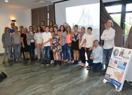 L'équipe des Matelots de la Vie 2014 avec l'équipe du bureau et les bénévoles de l'association