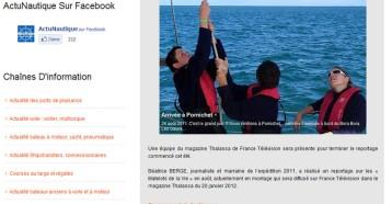Conférence Des Matelots De La Vie, Samedi 22 Octobre, À Guérande (44), Actu Nautique 19/10/2011
