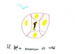 Concours dessin : Ma terre idéale - Tom - ESEAN Etablissement de Santé pour Enfants & Adolescents de la région Nantaise