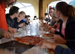 Dégustation des pizzas en apéro