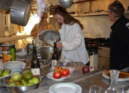 Laetitia chef cuisinier à bord