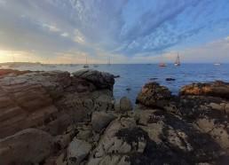 Belle vue donnant sur la mer