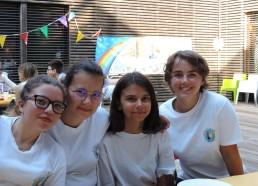 Nos Matelotes : Aaliyah, Alwena, Amandine, Maëlle