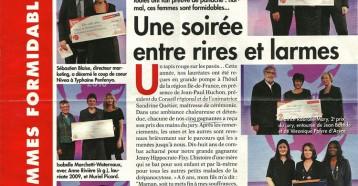 Prix des Femmes Formidables : Une soirée entre rires et larmes, Femme Actuelle n°1368 du 13 au 19/12/2010