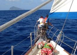 En route pour l'île de Panarea
