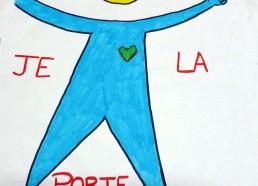 Concours dessin : Ma terre idéale - Hôpital ANDRE MIGNOT - LE CHESNAY VERSAILLES - Deuxième position : 5 points