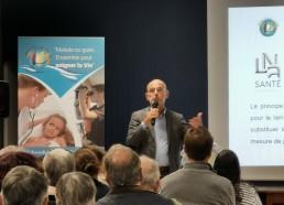M. de CEVINS des résidences LNA Santé qui ont participé au Challenge 2019