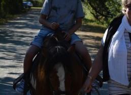 Bidouric sur un petit poney