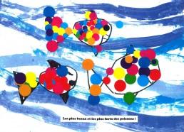 Concours dessin : Mon plus beau poisson - ESEAN Etablissement de Santé pour Enfants & Adolescents de la région Nantaise