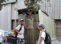 Toilettes sèches testées par Pascalou
