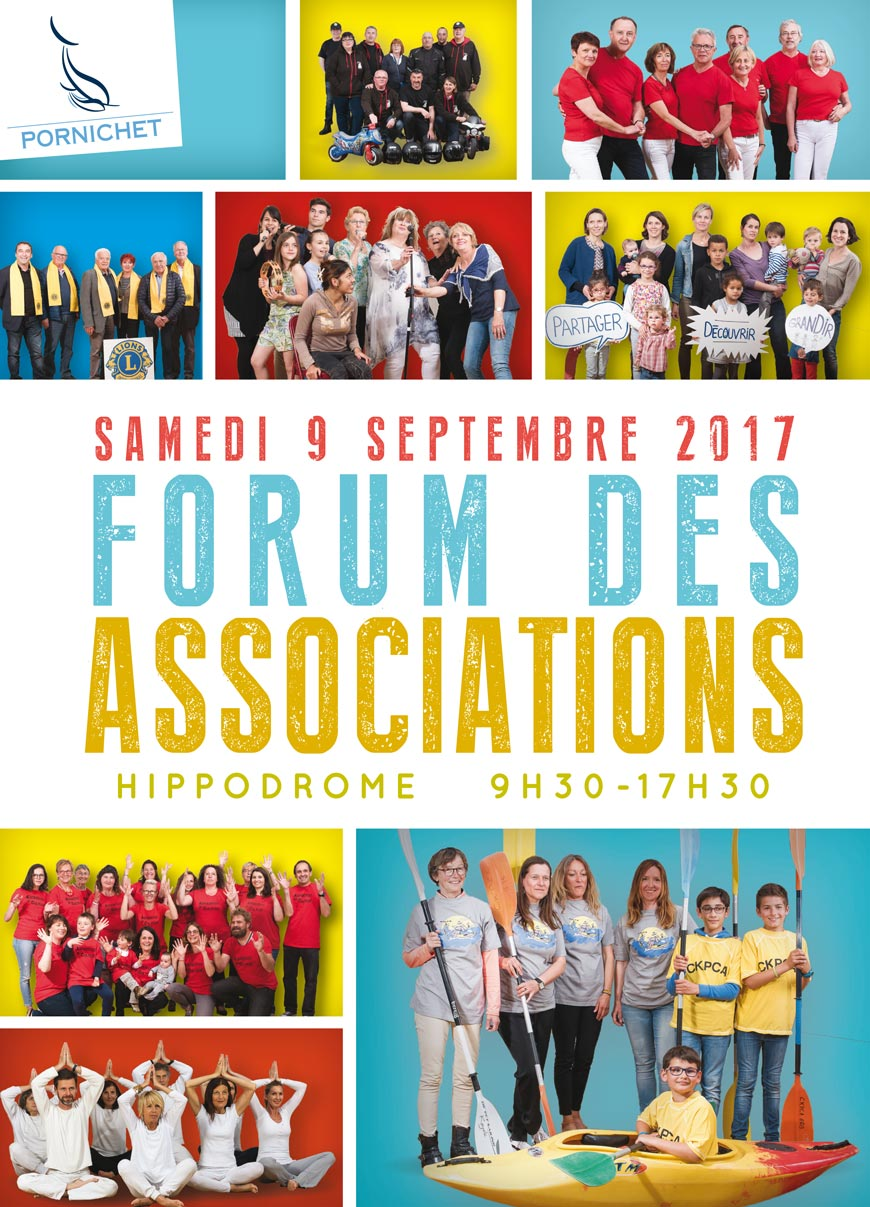 Affiche Forum des associations à Pornichet
