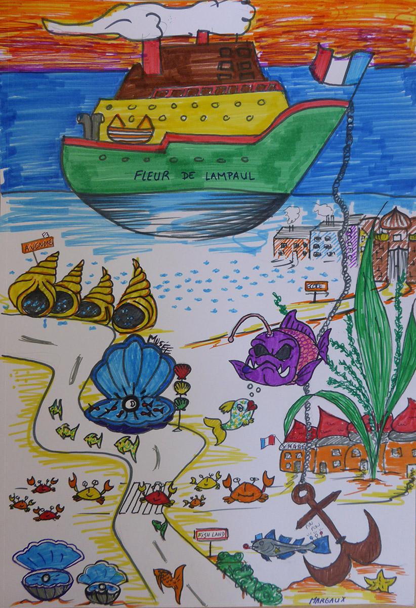 Resultats Concours Dessins Ma Ville Sous Marine Imaginaire