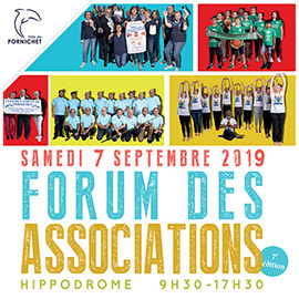 RDV au Forum des Associations de Pornichet